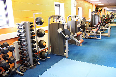Haileybury Sports Complex fitness suite